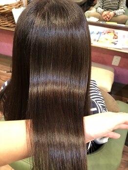 ファボリ(Favori)の写真/まとまらない/うねり/切れ毛…諦める前にご相談を!ハイダメージ毛もオーダーメイドトリートメントで艶髪へ