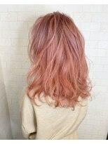 アルマヘア(Alma hair)ピンク☆ベージュ