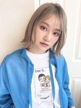 エレナ 青山/表参道(ELENA)ミルクティーベージュボブ