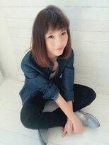 ローグ ヘアー 金町店(Rogue HAIR)ローグヘアー 金町【高 和宏】大人かわいいグレージュロングボブ