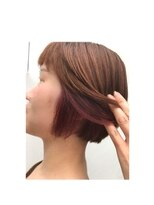 リゾートフォーヘアー 嵯峨店(ReSORT FOR HAIR)インナーカラー