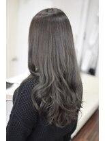 ヘアーデザイン キャンパス(hair design Campus)【イルミナRカラー☆】濃厚ミルキーブルージュ♪