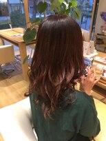 アスピリーフ(ASPILEAF)【ASPILEAF】ツヤ髪カシスグラデーションカラー
