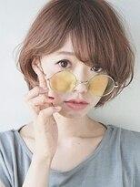 ハイ透明感カラー☆ミルクティベージュ☆メガネ女子編2(久米川)