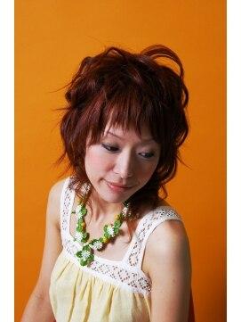 ヘアーアンドメイクアップ エムケイ(hair&make up MK)♪ナチュラルセミカール♪ by MK