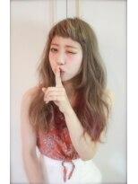 LAUREN☆外国人オータムグラデーションスタイル tel0112328045