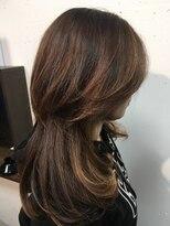 ヘアーサロンエルフォルグ(Hair Salon Erfolg)明るめグレイカラー