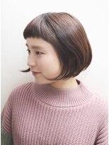 エトワール(Etoile HAIR SALON)くせ毛もいい感じにまとまるボブ