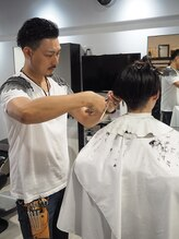 メンズ ヘアープロデュース フェード(Men's hair produce FADE)河野 健次郎