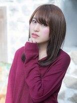 オーブ ヘアー カーム 橋本店(AUBE HAIR calm)スウィートな雰囲気のストレートスタイル☆