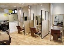 マッシュ キタホリエ(MASHU KITAHORIE)の雰囲気(2階には半個室空間をご用意☆パーソナルな空間でキレイに。)