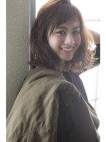 【miel hair bijoux】ゆるウェーブラフセミディ☆