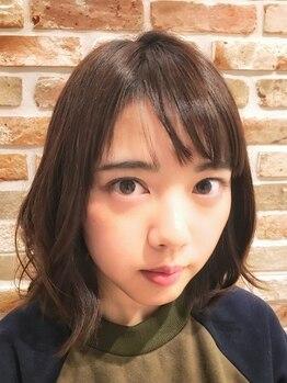 トモリヘアルーム (tomori Hair room)の写真/話題のイルミナカラーで光色に輝く髪色に☆ダメ-ジレスカラ-でうるおいUP&ツヤめく美髪に☆