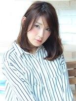 ジーナハーバー(JEANA HARBOR)大人ミセスミディアム☆ニュアンスパーマで無造作美人☆
