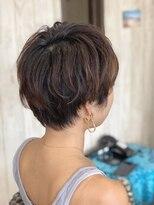 カイナル 関内店(hair design kainalu by kahuna)ドライヴカット×ゆるパーマ