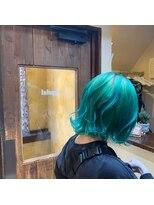 ジェイポイント ヘア クリニカ(J:POINT Hair CLINICA)フォレストグリーンカラー