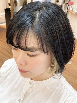 ヘアーアンドネイル ピーファイブ(hair&nail P five)の写真/池尻大橋◆繊細なカット技術で髪質・クセに合わせたスタイルへ。豊富な知識と経験でヘアのお悩みを解決◎