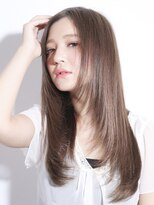 ヘアリゾート エーアイ 浅草橋店(hair resort Ai)ベージュロングストレート