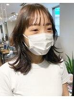 #韓国ヘア#プリカール#酸熱#ボブルフ#くびれ#くびれヘア