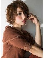 リリース(release)release【ラフにカッコよく!どこか女性らしい抜け感ショート】