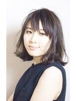エトネ ヘアーサロン 仙台駅前(eTONe hair salon)【eTONe】切りっぱなしボブ