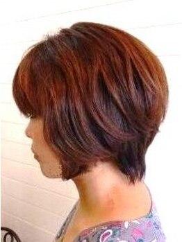 ヘアー マサ(hair MASA)の写真/髪と頭皮に優しい♪organicカラーで肌が弱い方も◎男性限定クーポン【カット+カラー¥6450】もあります*