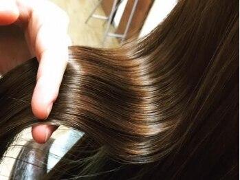 ブレス 小阪店(brace)の写真/ここまで髪はキレイを取り戻せる♪SNSで話題の「oggiotto-オッジィオット-」で髪美人へ☆