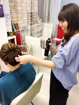 """ヘアープロデュース エムズ(HAIR PRODUCE M's)の写真/""""スタイリッシュ~ワイルドスタイル""""まで幅広いスタイル提案!納得の技術力でオシャレメンズから大人気◎"""