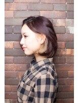 アリシアヘアー(ARISHIA hair)【ARISHIA hair 那珂】大人可愛い インナーカラー ボブ ♪