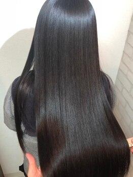 グレーヌ(Graine)の写真/美髪専門店でしか受けられない極上のうる艶縮毛矯正