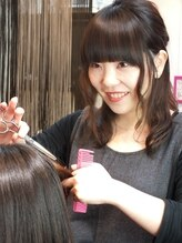 ヘア デザイン クリニック アンテナ(hair design clinic ANTENNA)田中 望美