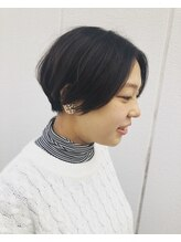 センシュアスヘアデザイン(Sensuous Hair Design)大人ハンサムショート 骨格矯正カット