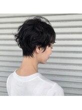 モグヘアー(mog hair)ショートパーマスタイル