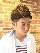 ヘアメイク オブジェ(hair make objet)ツーブロックとフワフワパーマ