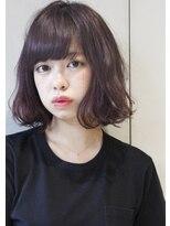 ヘアサロンガリカアオヤマ(hair salon Gallica aoyama)『 エアリーBOB & ラベンダーグレージュ』小顔シルエットstyle☆