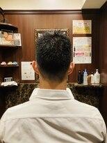 スポーツ刈り/ヒロ銀座/床屋/理容室/メンズヘアサロン/田町