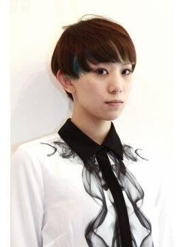 クリコ ヘアーデザイン(CLICQUOT hair design)ボーイズライクなショートスタイル