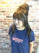 ヘアメイク オブジェ(hair make objet)ラフアレンジ