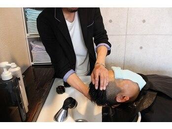 エスフォーメン 愛国西店(es for men)の写真/頭皮をスッキリさせ、根元から健康に!!健やかな頭皮と頭のコリをほぐすヘッドスパで、心までリフレッシュ!