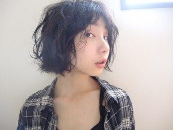 マカロ ヘア アトリエ(macaro hair atelier)の写真/ふんわりウェーブもリッジ感のあるデザインも◎ダメージレス&滑らかで良質なデザインパーマが魅力☆