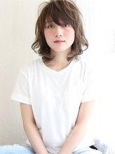 レガロヘアーデザイン(Regalo hair design)Regalo☆外国人風うざバングのくびれミディ☆