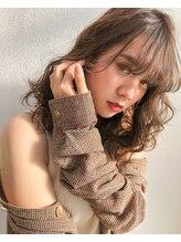 ビーバイシージャストビューティー(B by C just beauty)[学割U24] 【横須賀中央】大人かわいい厚めバング伸ばしかけ