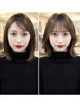 ガレリアエレガンテ 栄店(GALLARIA Elegante)韓国風before→after