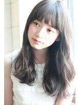 283/デジタルパーマ/イルミナカラー/ジグザグバング/栗原