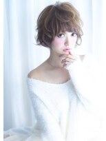 リリースセンバ(release SEMBA)release SEMBA『ピュアホワイトブラウン♪ゆるふわショート☆』