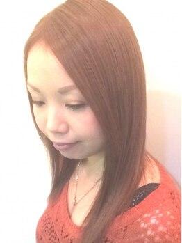 ヘアーアンドハート ベルフェーム 湘南台店(Hair&Heart BelleFemme)の写真/【必見】確かに変わる!と大人気の髪質改善★縮毛矯正コース。毛先までやわらかくなるストレートへ。