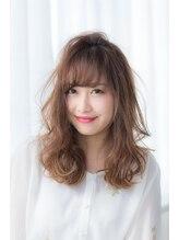 ミエル ヘア 新宿(miel hair)【miel hair新宿】フリンジバングミディアム☆