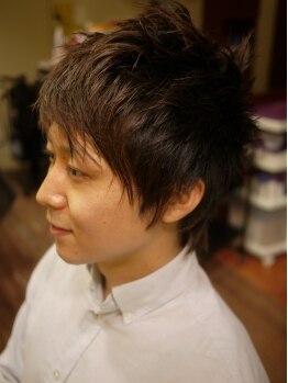 フジ(Fu ji)の写真/おしゃれなメンズも注目のサロン!自分で簡単にスタイリングできる仕上がりも嬉しい☆