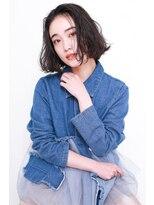 ラフィス ヘアーピュール 梅田茶屋町店(La fith hair pur)【La fith】大人可愛いセンターパートスタイル