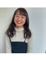 ヘアーアイストゥーレ(HAIR ICI TRE)ロング 艶カラー
